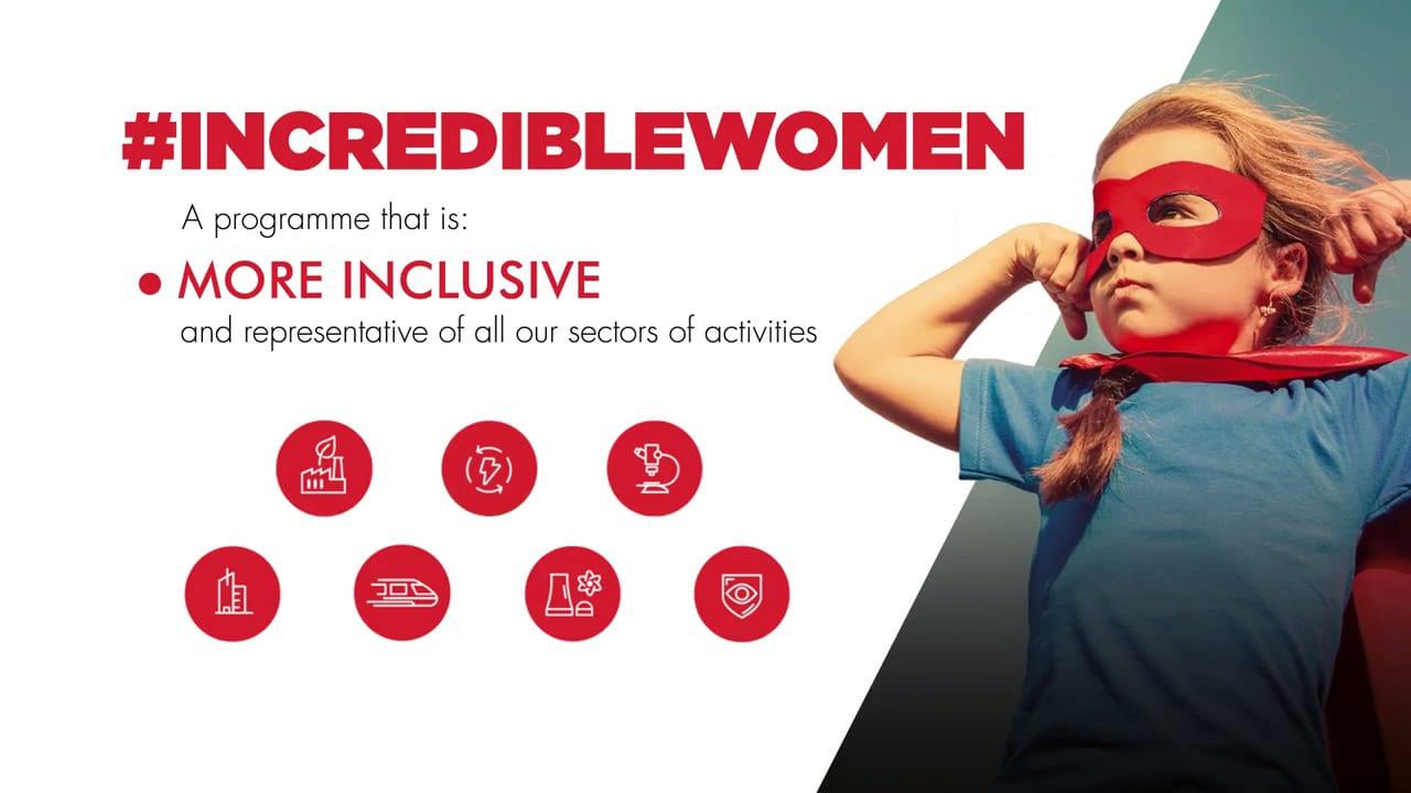 #IncredibleWomen gender diversity programme